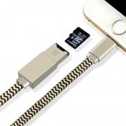 New Design TF card reader USB OTG Cable for iphone