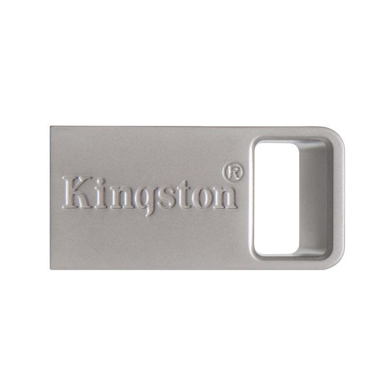 Kingston Digital 16GB DTMicro USB 3.1/3.0 Type-A Metal Ultra-Compact Flash Drive DTMC3