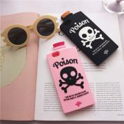 3D Unicorn Blood Witch Brew&Broken Hearts Poison Bottle silicon Phone case cover for iPhone 6/6s/6 plus/6s plus