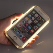 Light up Lum Luminous Back Cover for iPhone 6 6s LED Light Up Selfie case for iPhone 6 6s New Selife Light Case for iPhone 6 6s