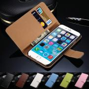 Built-in Card slot Vintage Wallet 4.7 inch Stand Flip Leather Mobile Phone case For iPhone 6 6S