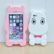 Hippo Silicone Phone Case for iphone5 5s/ 6 /6 plus