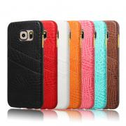 Luxury Pu Leather Wallet Hard Back Cover Skin Moblie phone Case for Samsung Galaxy S6